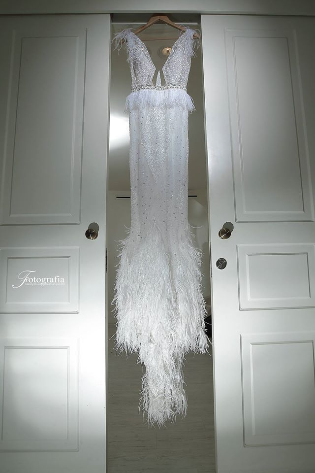ספיר בן חמו - שמלת כלה ברטה דגם 16-124