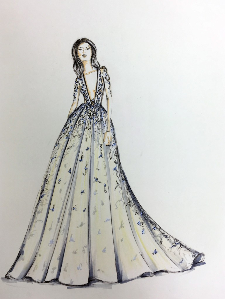 Sketch of Style 18-115