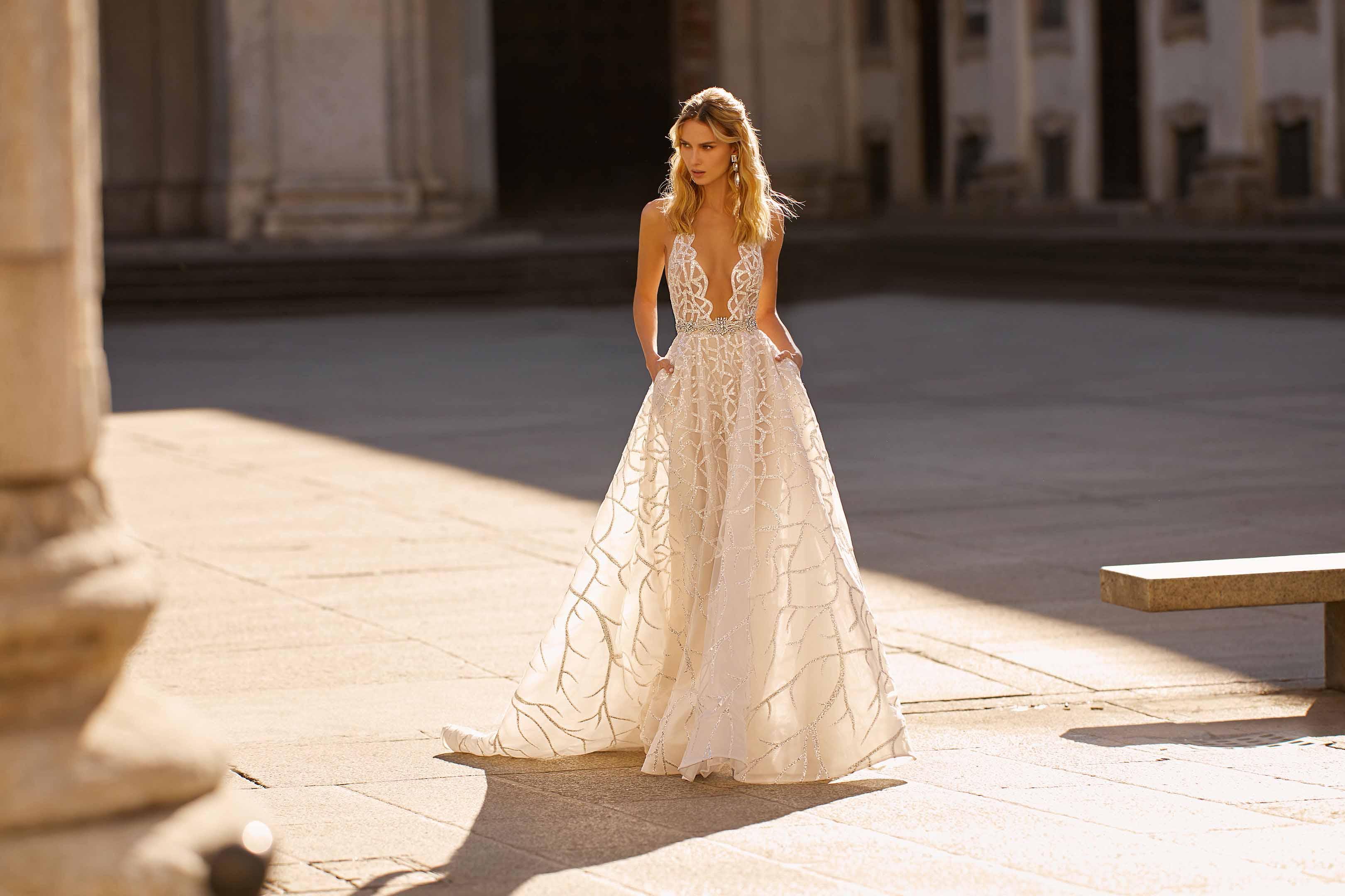 Milano Berta,Formal Dress For Winter Wedding